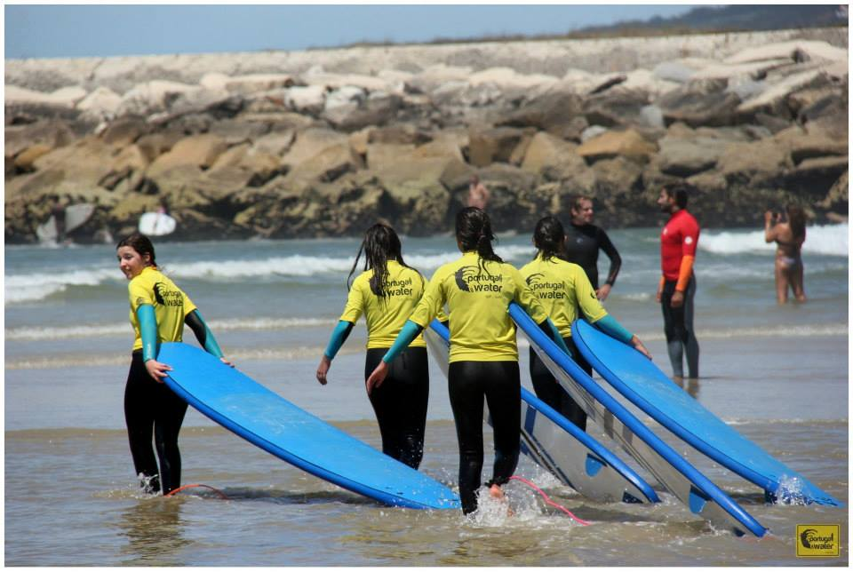 Portugal On Water - Surf School - Girls